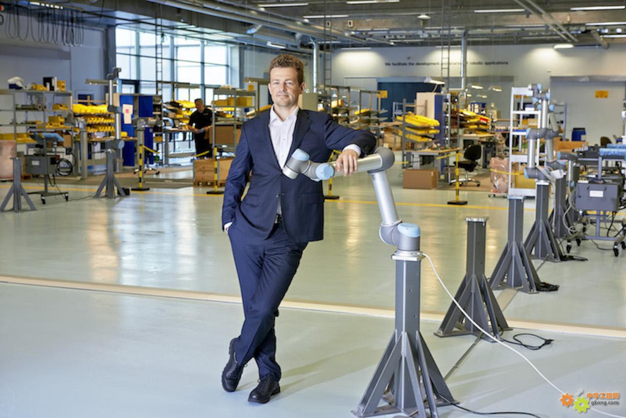 优傲机器人创始人、全球CTO Esben H.Østergaard
