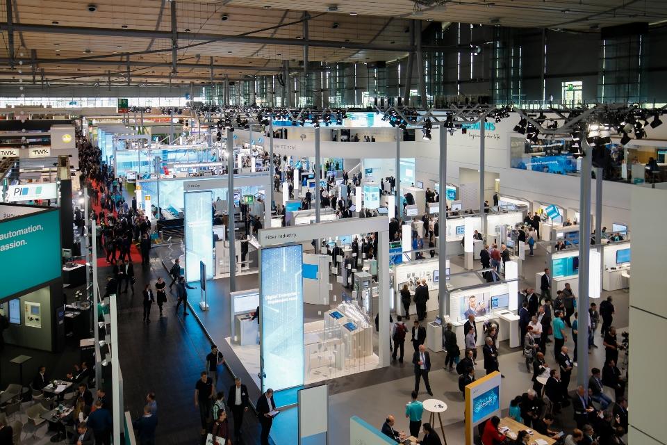新闻图片1_西门子2018年汉诺威工业博览会展台
