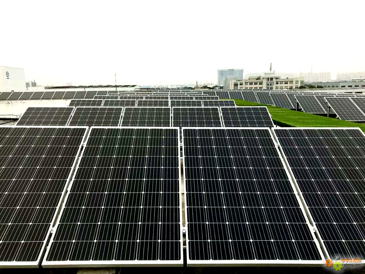ABB电机园区屋顶太阳能