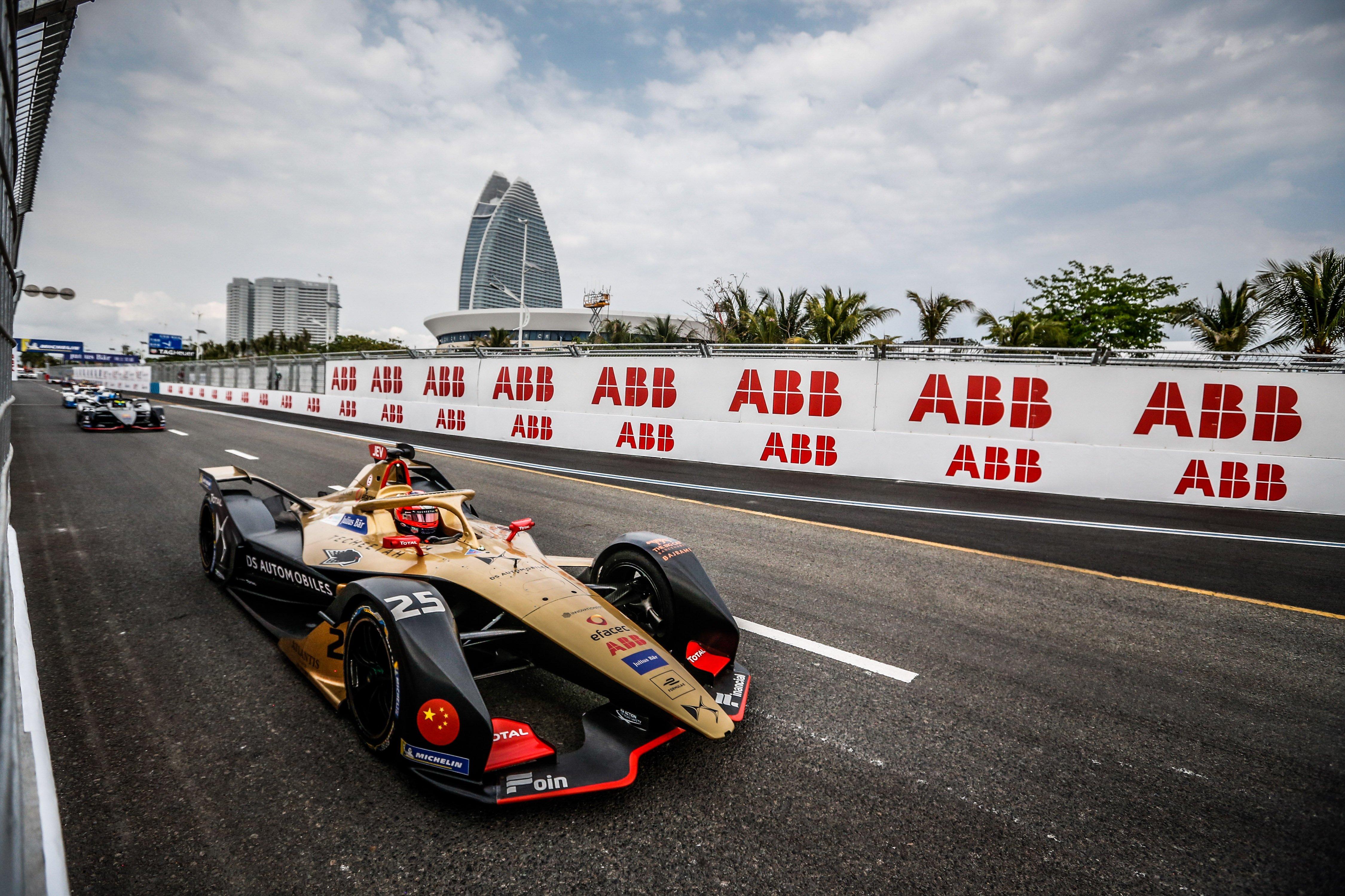 ABB国际汽联电动方程式锦标赛驰骋三亚