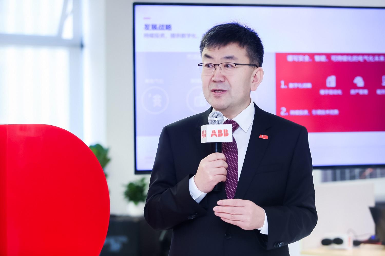 ABB中国电气事业部负责人赵永占致辞