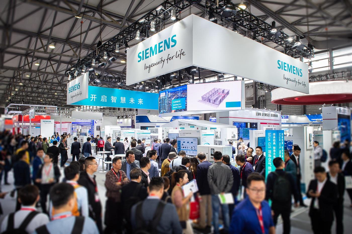 新闻图片1_西门子携全系列配电设备与系统亮相上海国际电力电工展