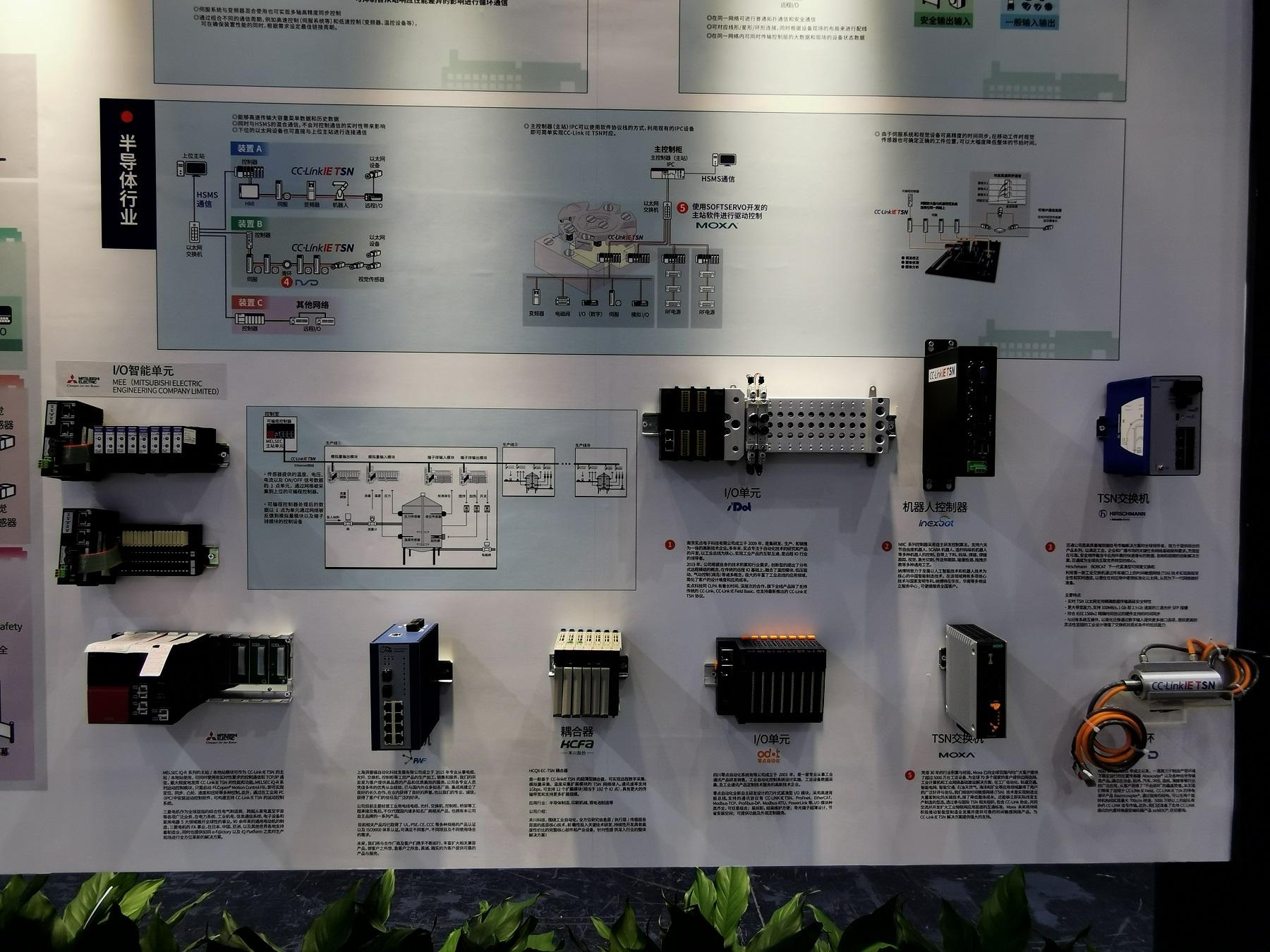 TSN兼容产品展示