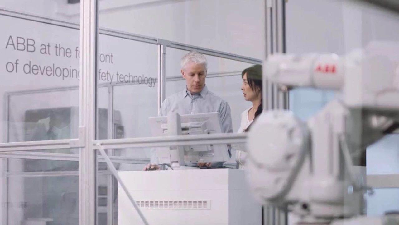 ABB机器人为工厂未来的数字化布局预先做好准备