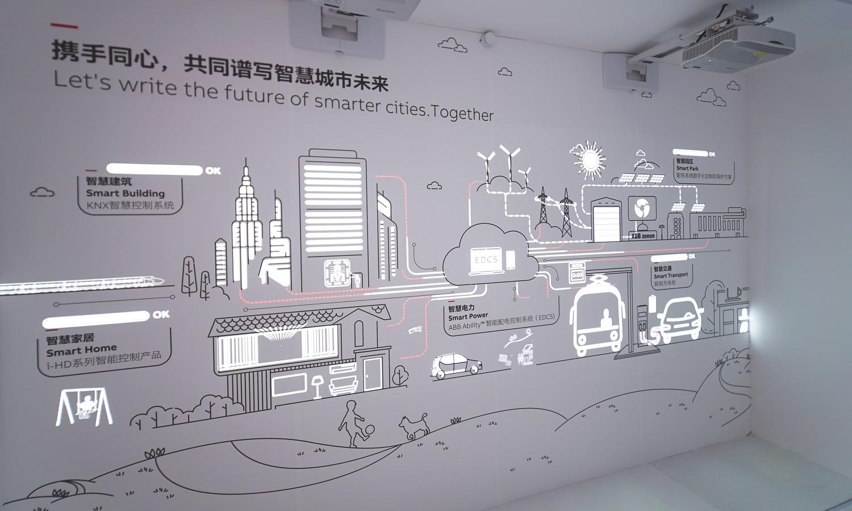 ABB开放创新中心展厅