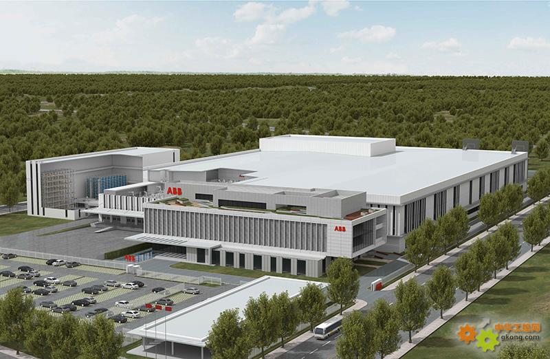 ABB机器人上海新工厂效果图