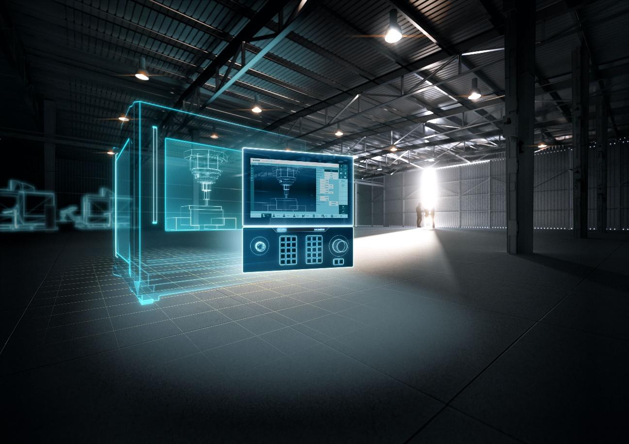 新闻图片_数字化原生数控系统 Sinumerik One 凭借其数字化双胞胎、全新硬件平台和革新性功能树立了生产力的新标准