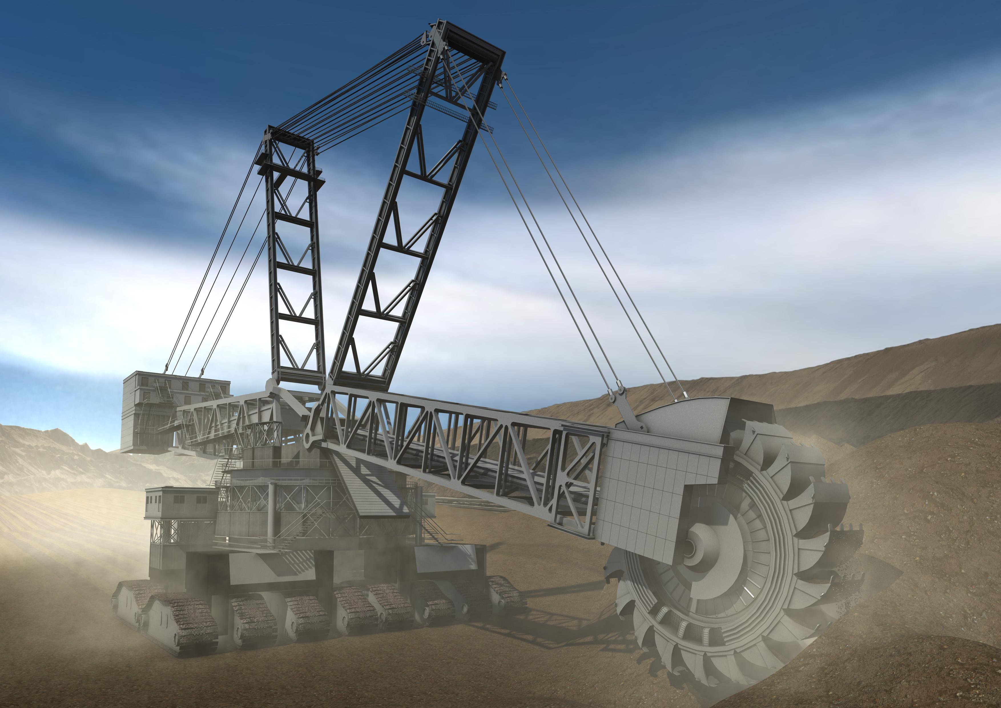 A-0296-0-DCH-DiggingMachine