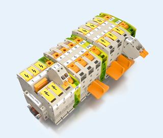魏德米勒A系列大电流接线端子