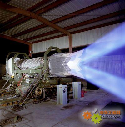 f119发动机矢量喷口试验