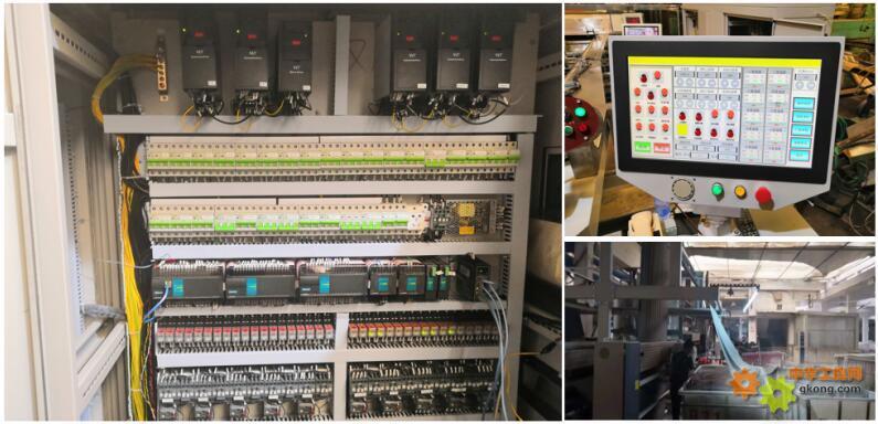 Haiwell(海为)PLC HMI IPC印染定型机16台变频同步解决方案