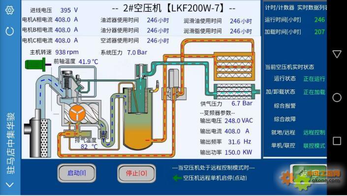 Haiwell(海为)PLC HMI 空压机系统远程监控解决方案