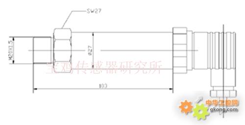 cyg1105隔离膜式压力变送器
