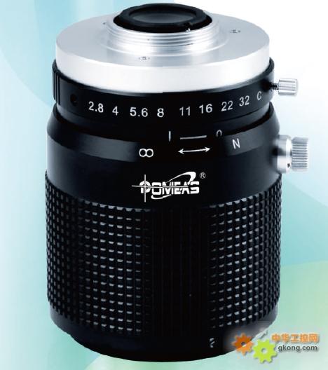 基於远心光路设计,适用於机器视觉,工业自动化等领域.