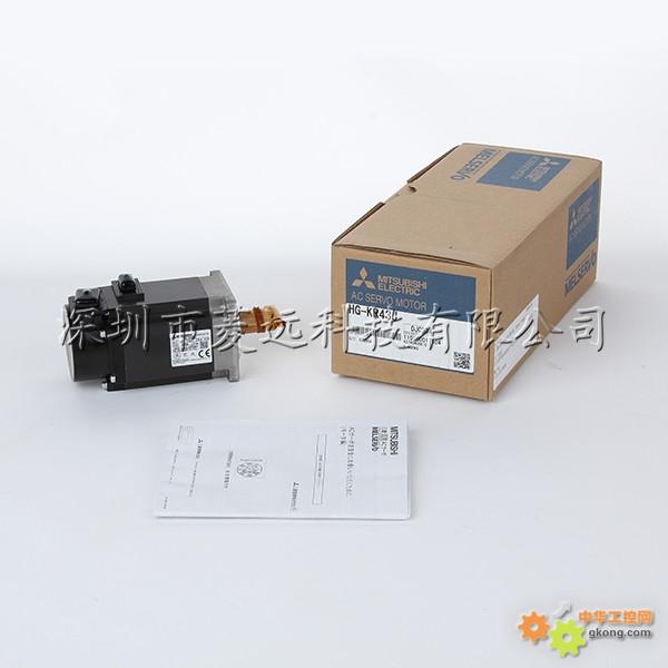 日本三菱伺服电机HG KR43J MR J4 40A多轴磨床专用图片