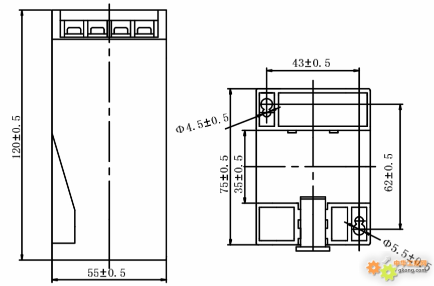 无锡hdb型交流电流(电压)变送器